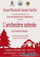 Eventi - L'orchestra celeste