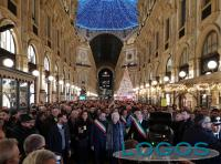 Milano - Oltre 600 sindaci con Liliana Segre