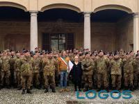 Turbigo - L'Esercito accolto in Comune dal sindaco e dal vicesindaco
