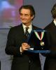 Sport - Attilio Fontana durante la cerimonia di premiazione