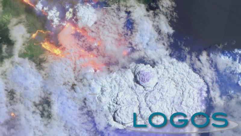 Attualità - Incendi in Australia (foto Rete Meteo Amatori)