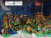 Castano - Il presepe, tutto realizzato con i Lego, della scuola Materna di via Giolitti