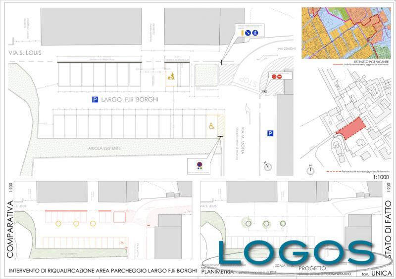Cuggiono - Il progetto di Largo F.lli Borghi