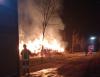 Castano - Vigili del fuoco sul posto
