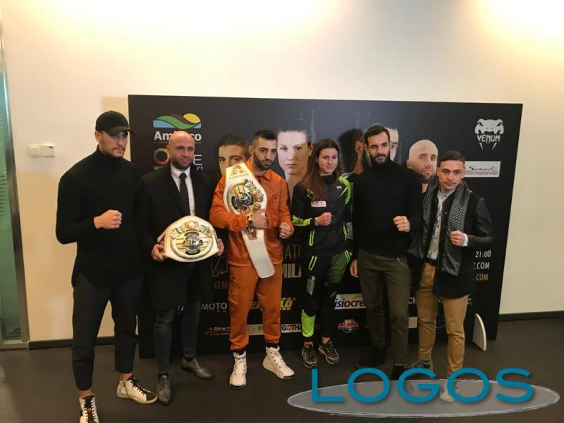 Sport - Giorgio Petrosyan e alcuni degli atleti di 'PetrosyanMania'