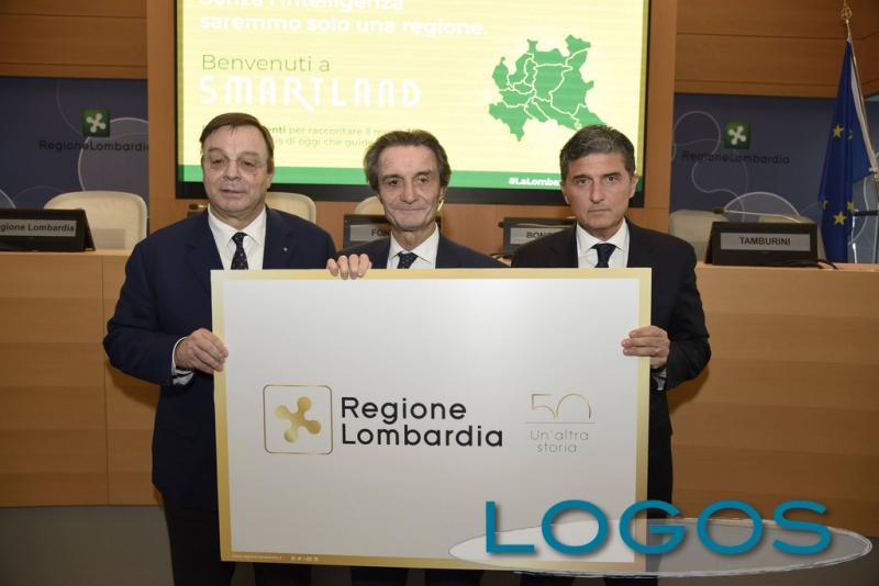 Milano - Il logo per i 50 anni di Regione Lombardia