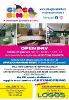 Castano Primo - Open Day al Gioca Bimbo 2020