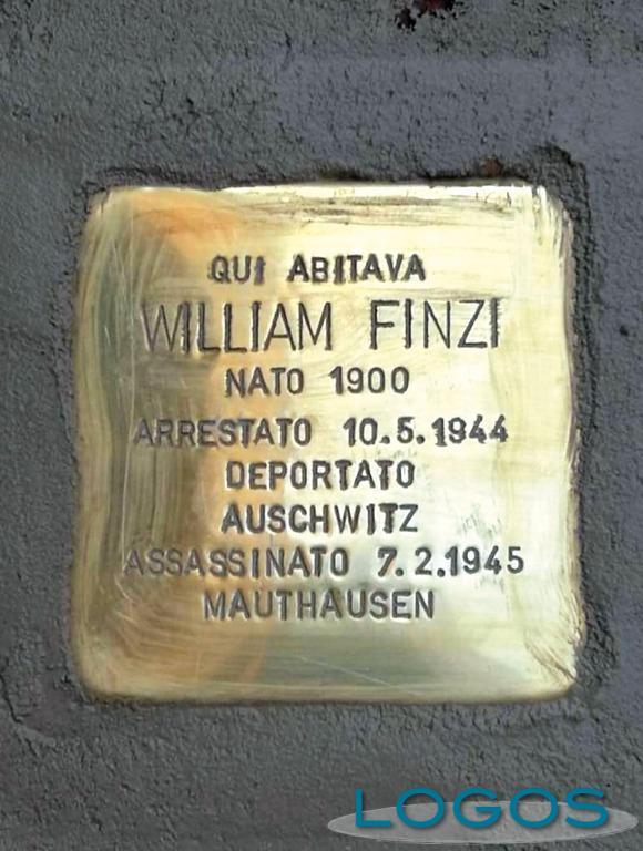Milano - Pietra di inciampo per Williamo Finzi