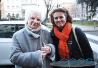 Milano - Rubina Finzi con Liliana Segre (foto di Andrea Cerchi)