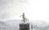 Sport - La statua in ricordo di Marco Pantani