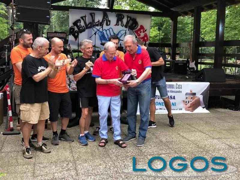 Turbigo - Luciano Dubini con lo Sci Club Ticino