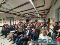 Arconate - Un momento dell'assemblea pubblica