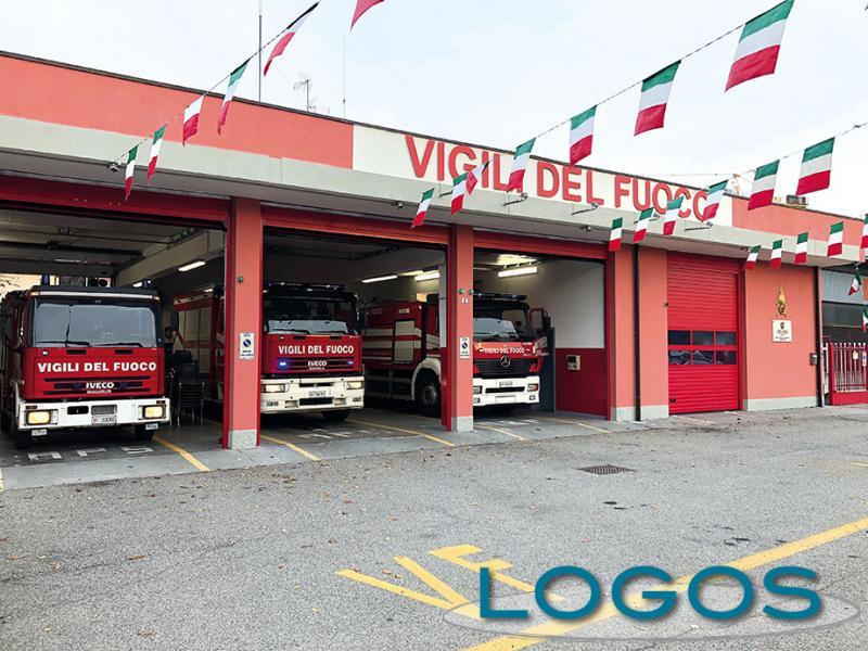 Inveruno - La caserma dei Vigili del fuoco (Foto d'archivio)