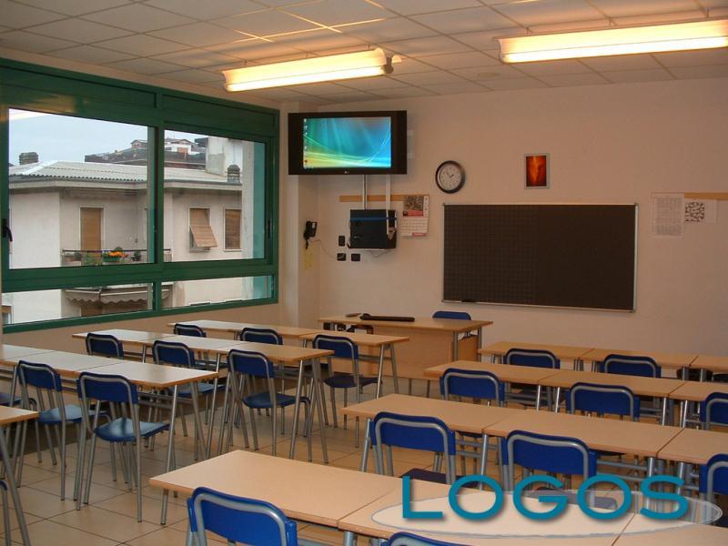 Generica - Aula scolastica vuota (foto internet)