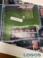 Inveruno - Nuove aree verdi in paese (prospetto lavori)