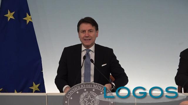 Italia - Conferenza stampa Giuseppe Conte
