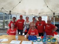 Turbigo - Dante Bolognesi, secondo da destra, con alcuni volontari della Pro Loco