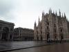 Milano - Piazza Duomo vuota (foto internet)