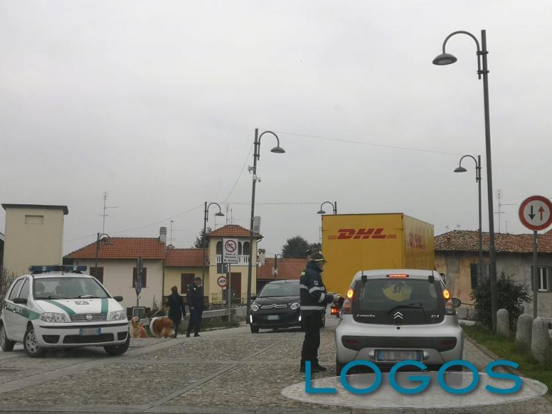 Bernate Ticino - Controlli lungo l'Alzaia