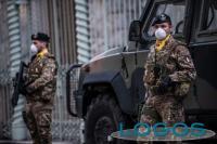 Territorio - Esercito fa controlli per Coronavirus (foto internet)