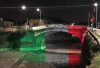 Bernate Ticino - Ponte tricolore sul Naviglio
