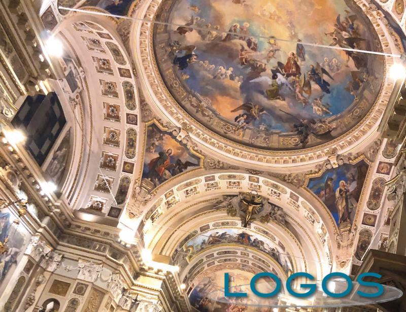 Cuggiono - Basilica, la volta affrescata