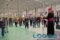 Milano - La benedizione dell'ospedale in Fiera