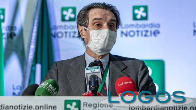 Milano - Il presidente della Lombardia Attilio Fontana (Foto internet)