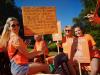 Cuggiono - Un gruppo di Castelletto vincitore del 1° Giochi dei Rioni