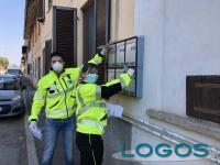 Cuggiono - Azzurra Soccorso distribuisce le mascherine