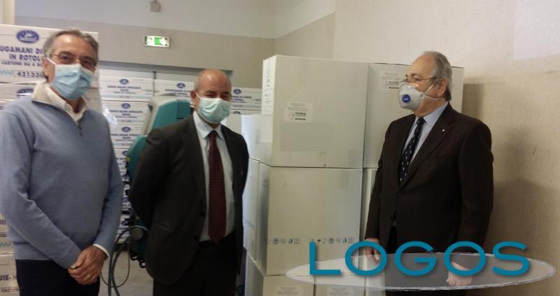 Salute - Fondazione Ospedeli consegna le mascherine