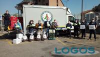 Busto Arsizio - Protezione Civile porta doni in Ospedale