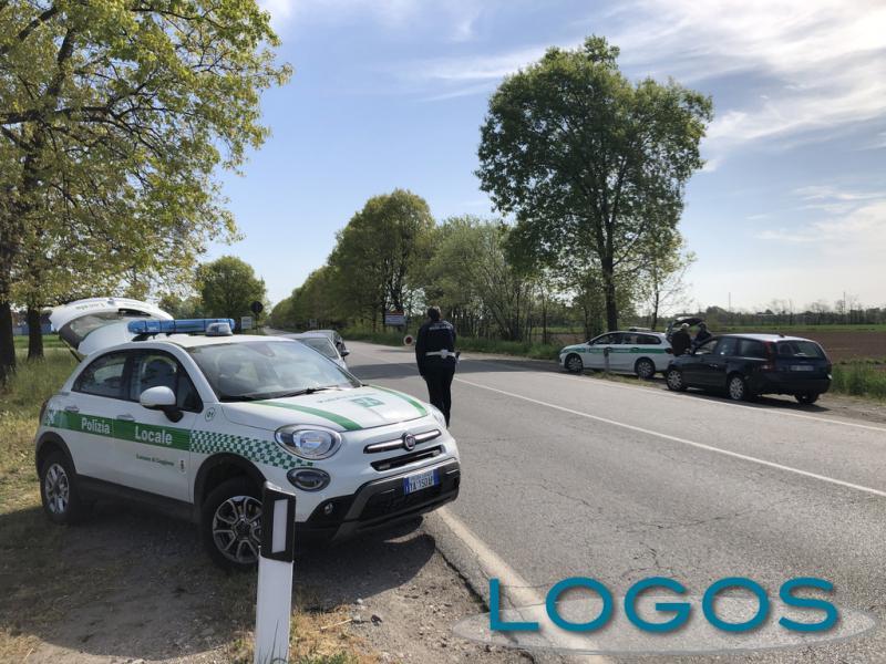 Cuggiono - Controlli della Polizia locale per il Covid-19