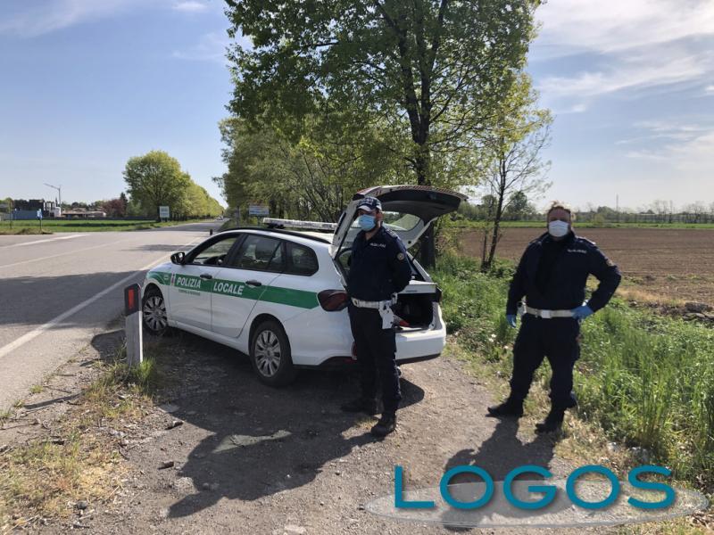 Inveruno - La Polizia locale e i controlli per il Covid-19