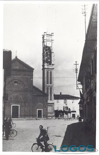 Inveruno - La piazza ai tempi della guerra (foto internet)