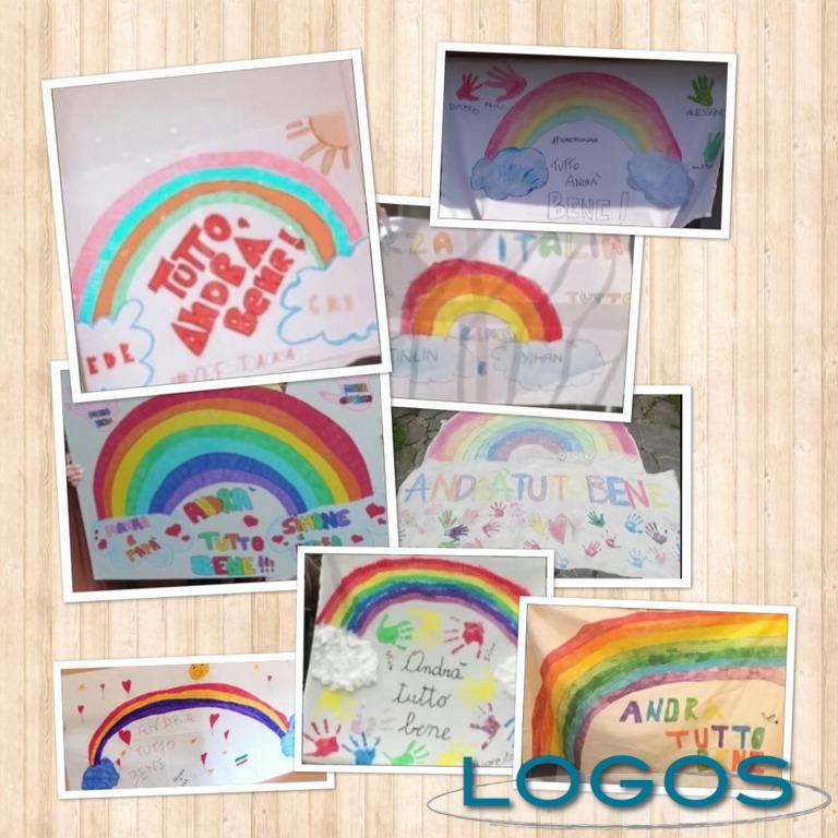 Scuola - Collage disegni bambini Primaria di Casorezzo