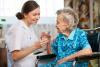 Sociale - RSA con anziana assistita (foto internet)