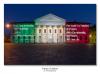 Como - Il Teatro Sociale con il 'Nessun Dorma' e il Tricolore (Foto di Franco Gualdoni)