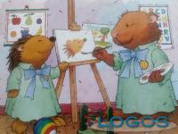 Scuola - Nido, un disegno per bambini