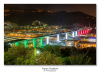Attualità - Il nuovo ponte di Genova illuminato con il Tricolore (Foto di Franco Gualdoni)