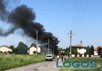 Cuggiono - Auto in fiamme, 7 maggio 2020