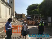 Marcallo - Massimo Garavaglia al mercato post Coronavirus