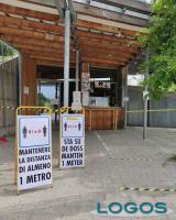Milano - I cartelli al 'Sun strac'