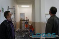 Castano - Interventi di sistemazione nella scuola di via Acerbi