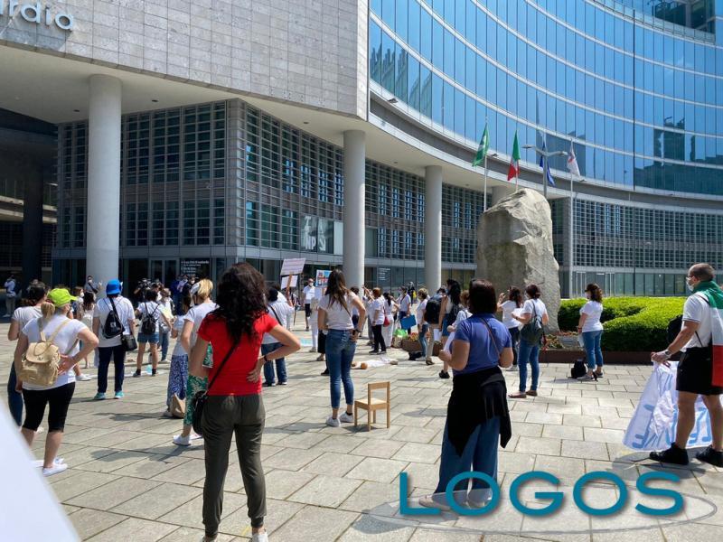 Milano - In protesta per l'infanzia