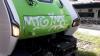Territorio - Un treno vandalizzato