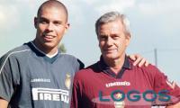 Sport - Gigi Simoni con il 'fenomeno' Ronaldo (Foto internet)