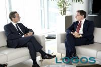 Milano - Il presidente Fontana con il ministro Boccia (Foto internet)