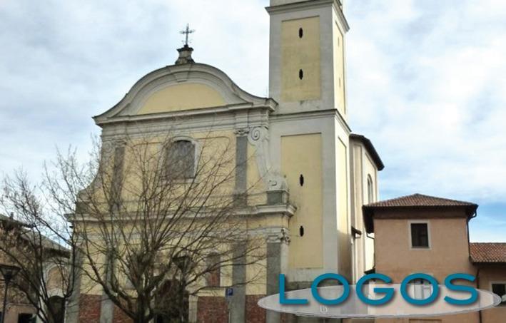 Vanzaghello - La chiesa parrocchiale (Foto d'archivio)