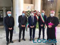 Milano - Il presidente della Lombardia a Codogno